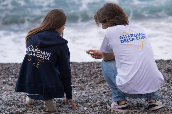 Guardiani della costa al lavoro